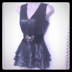 Banana Republic tiered skirt mini dress/top